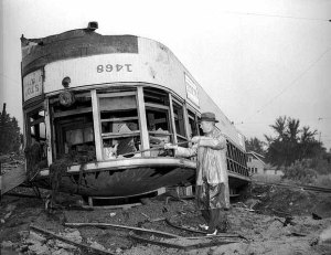 Salvage of Streetcars