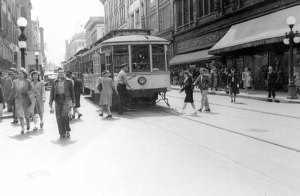 Streetcar in St. Paul