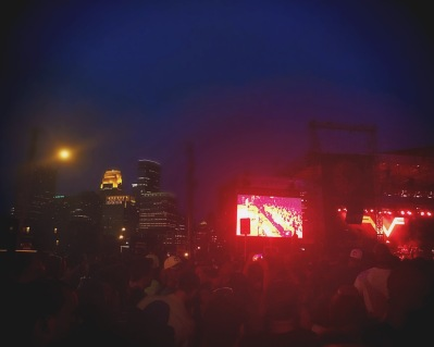 Weezer at the Basilica Block Party